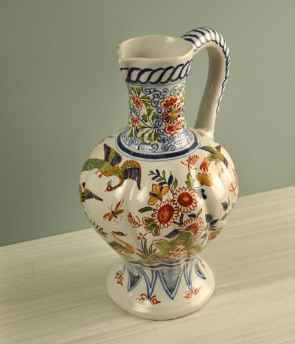 19th century Delft jug
