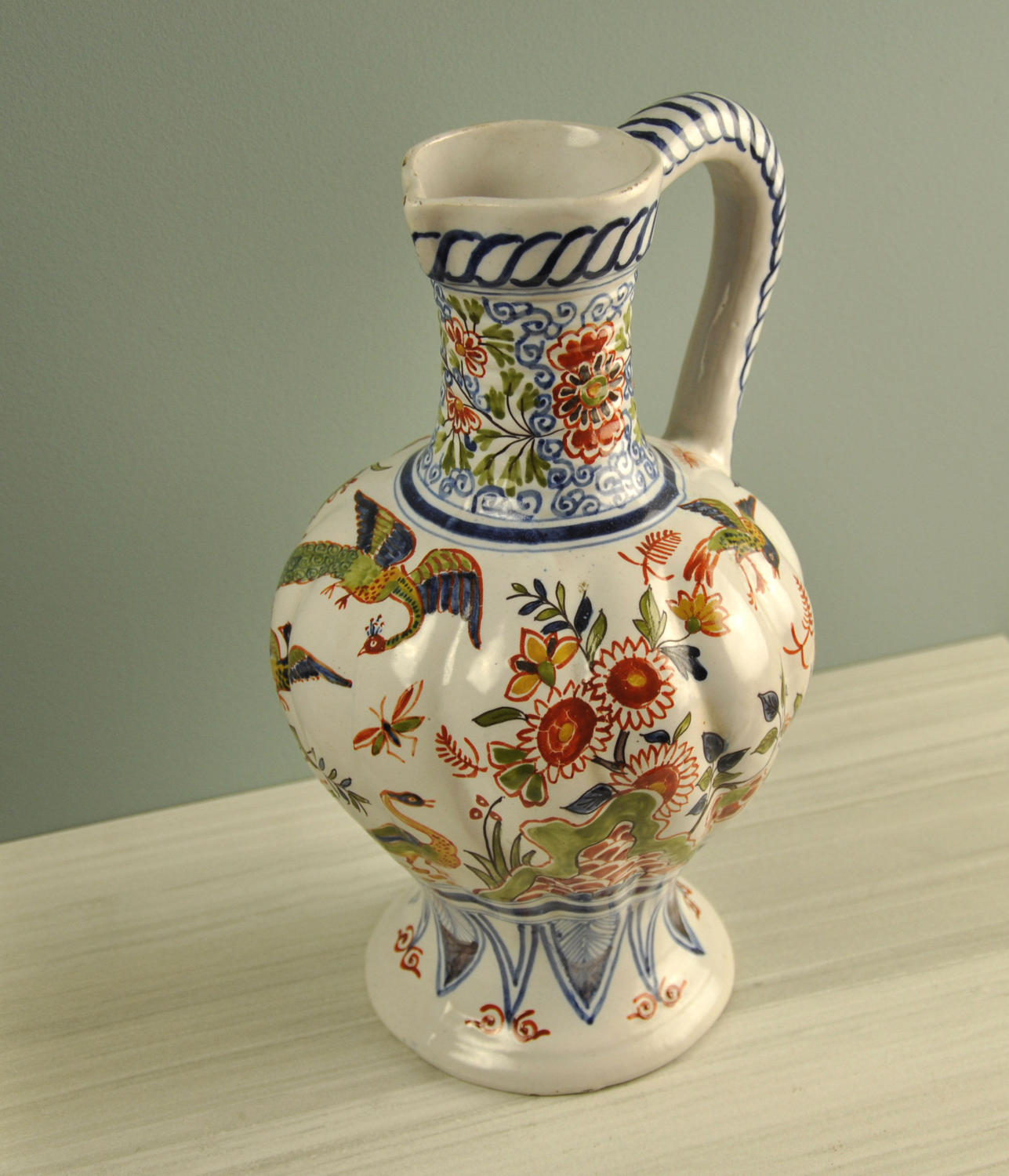 19th century Delft jug