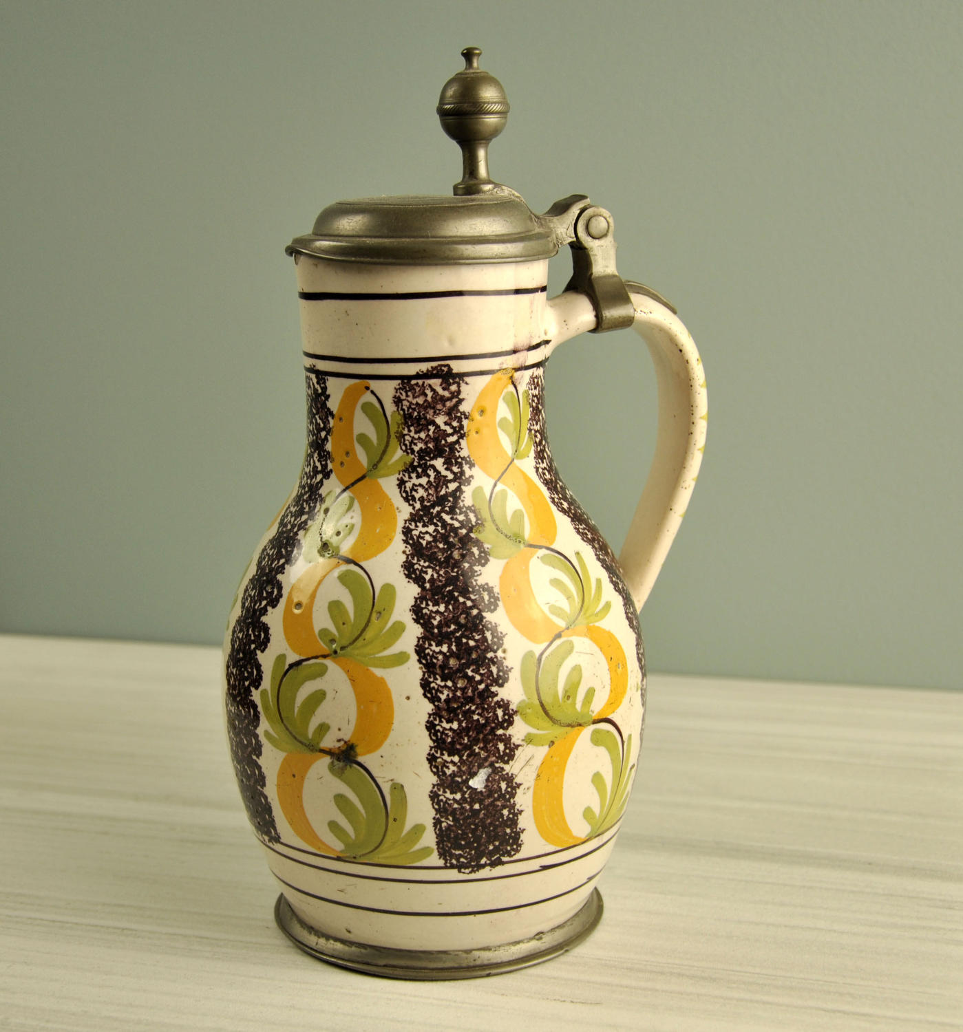 18th century French flagon