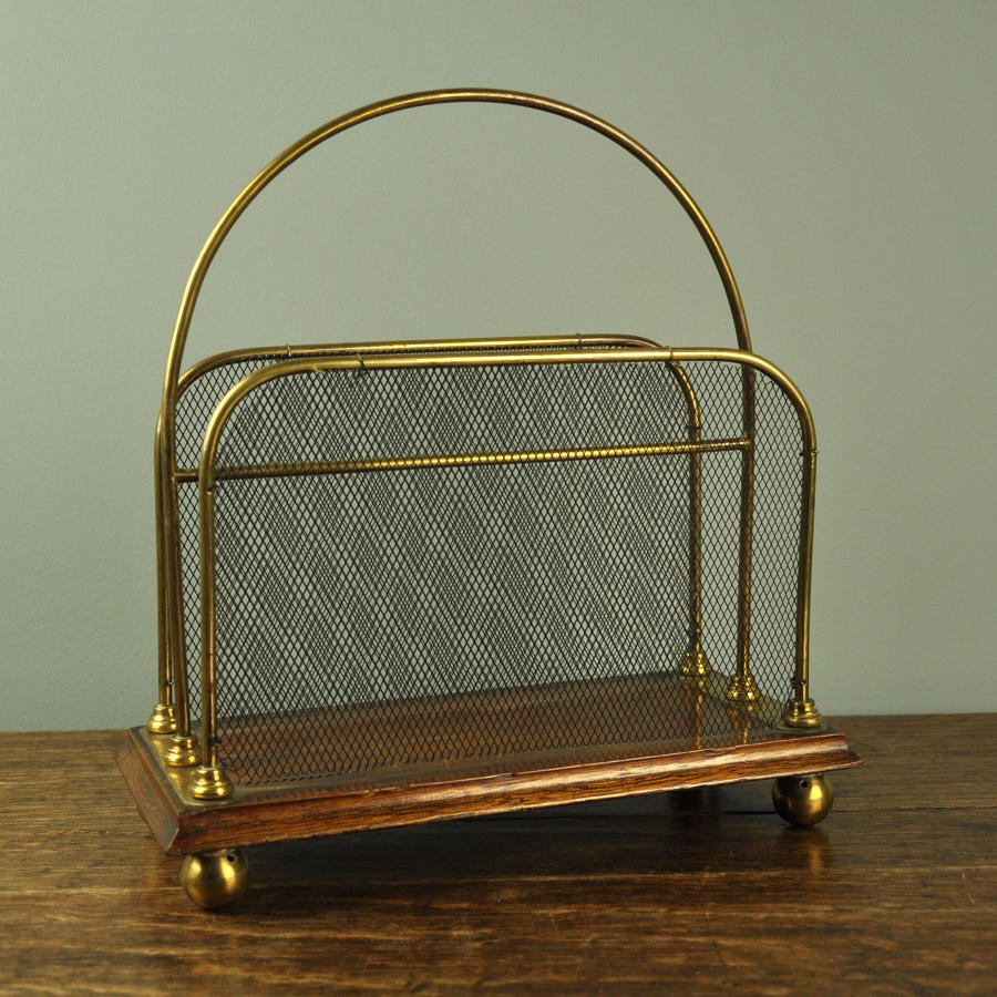 19th century 'Tonks & Son' letter rack