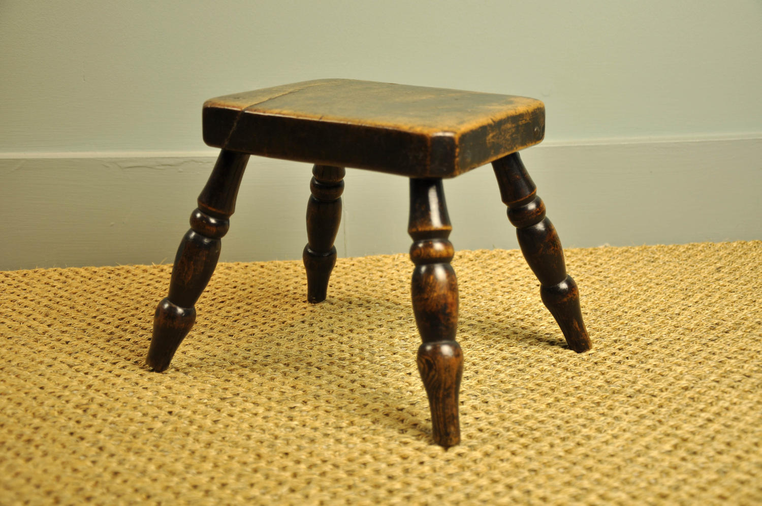 19th century country stool