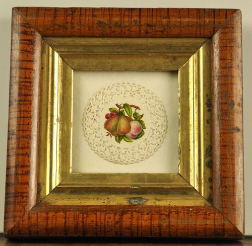 Framed Regency watercolour