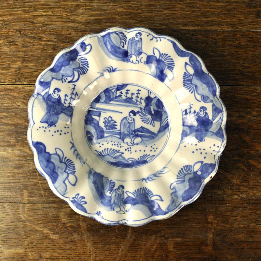 17th century lobed dish