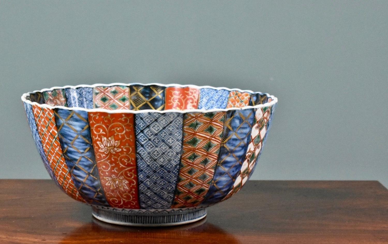 Japanese Arita Imari Bowl