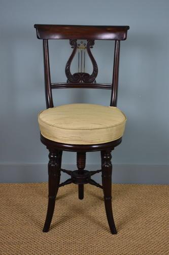 Regency 'Harpist's' Chair