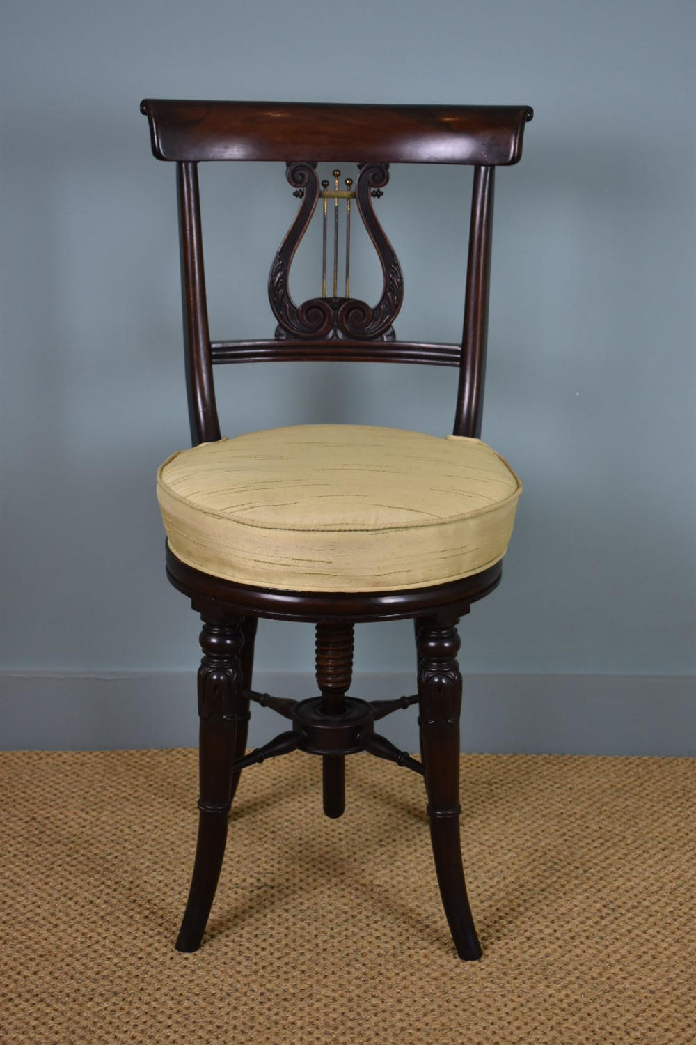 Regency 'Harpist's' Chair