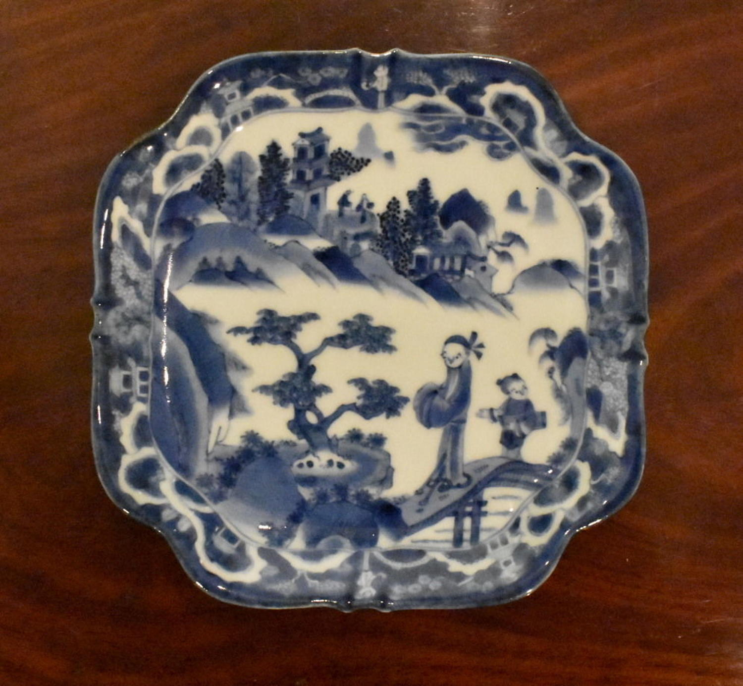 18th c Japanese dish