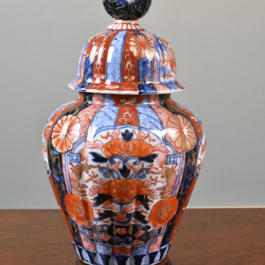 Japanese Meiji Jar and Cover