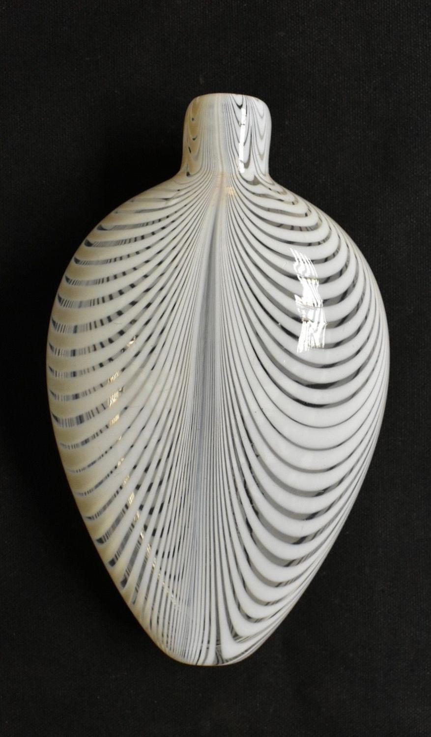 19th century Nailsea flask