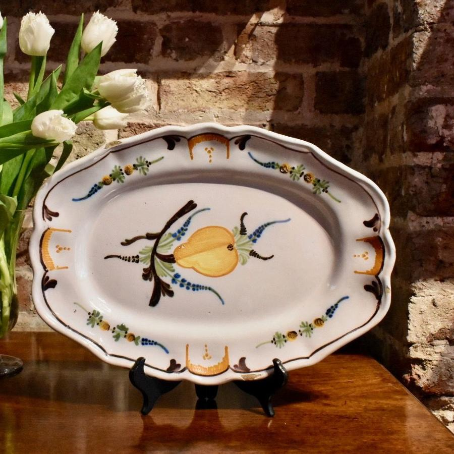 18th c. French Faience Serving Dish