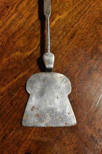 18th century Steel Peel