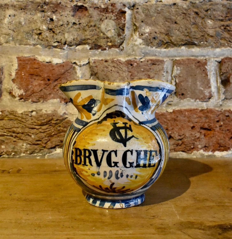 18th c. Italian apothecary's jug