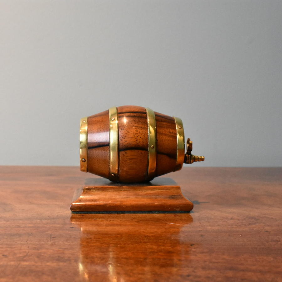 19th century barrel string box