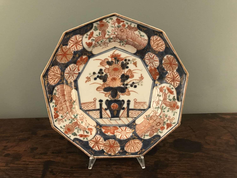 17th c Japanese Imari Verte plate