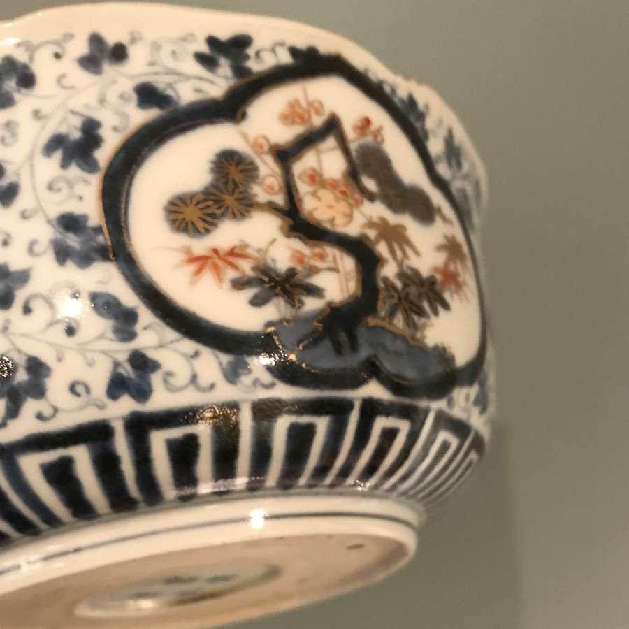 Edo period Arita Imari bowl