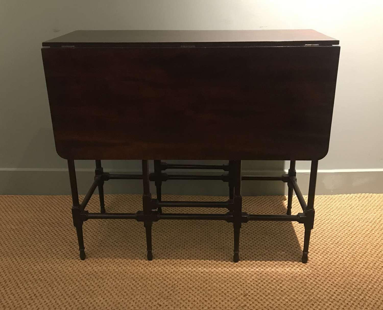 18th c. mahogany 'Spider' table
