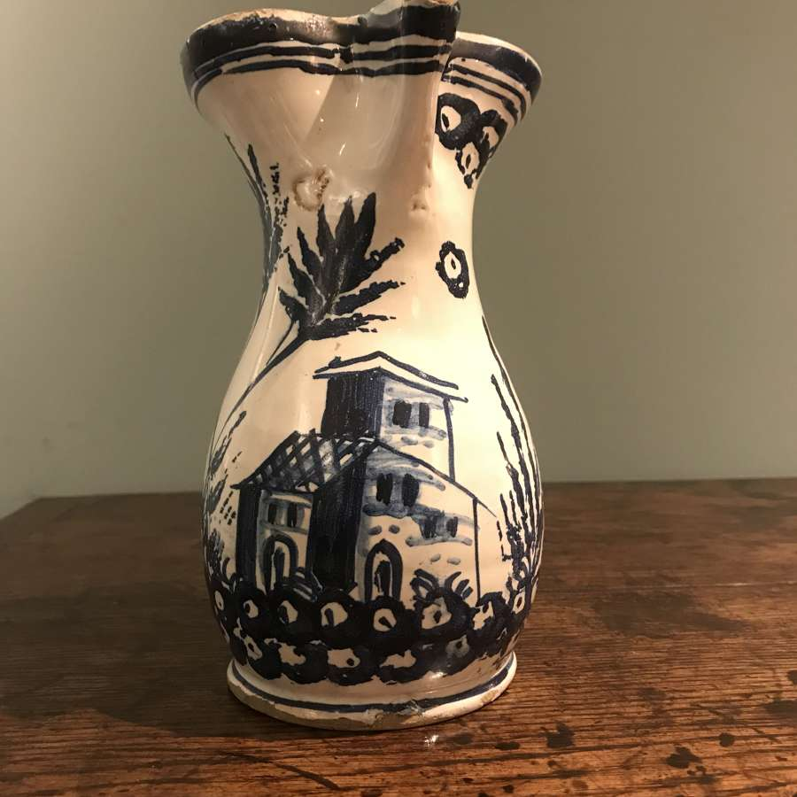 18th c Talavera jug