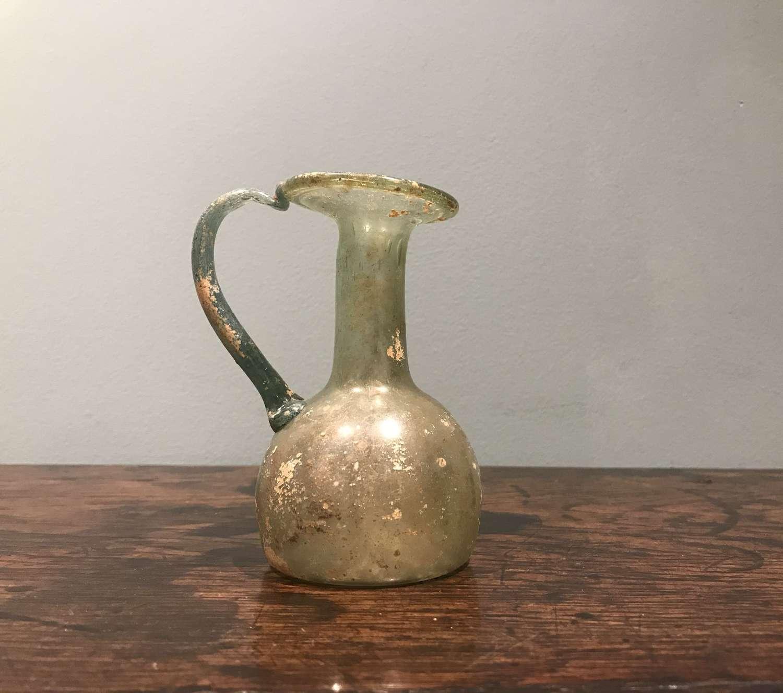 2nd-3rd c. AD Roman glass juglet