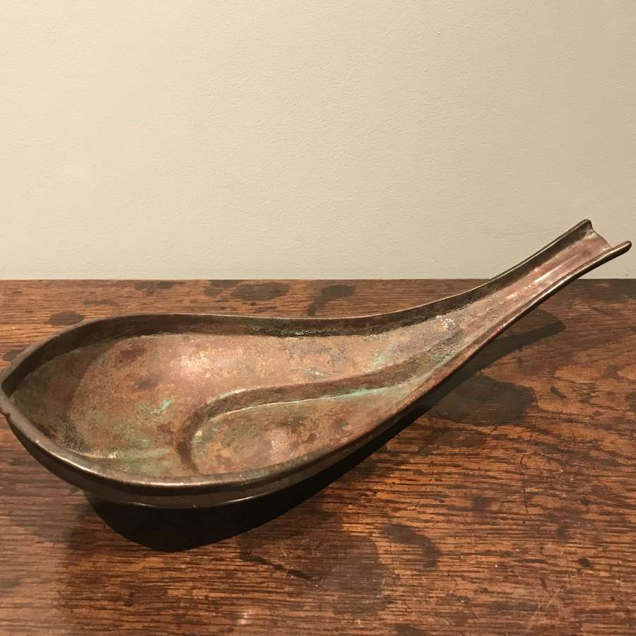 18th c. Copper Yoni water pourer