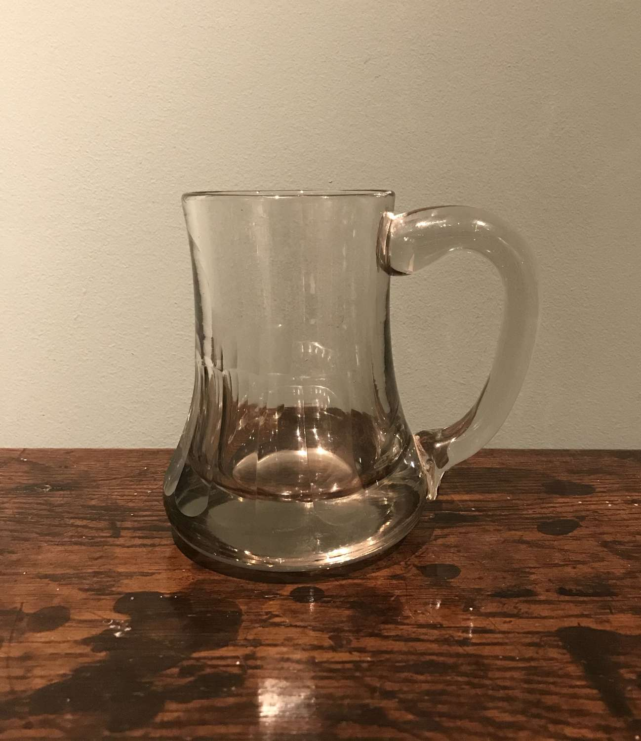 19th c French beer glass