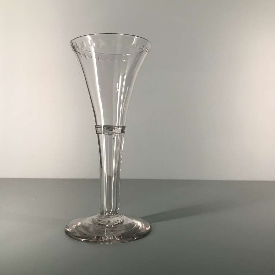 18th c. English Excise Glass