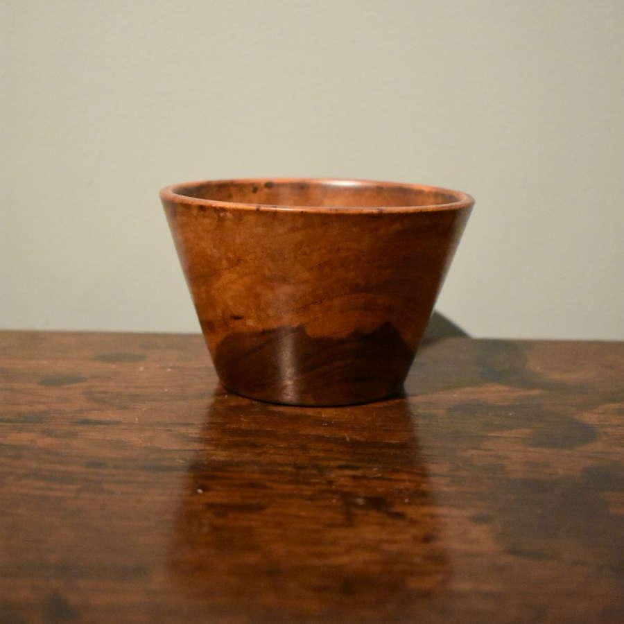19th c. Lignum Vitae Bowl