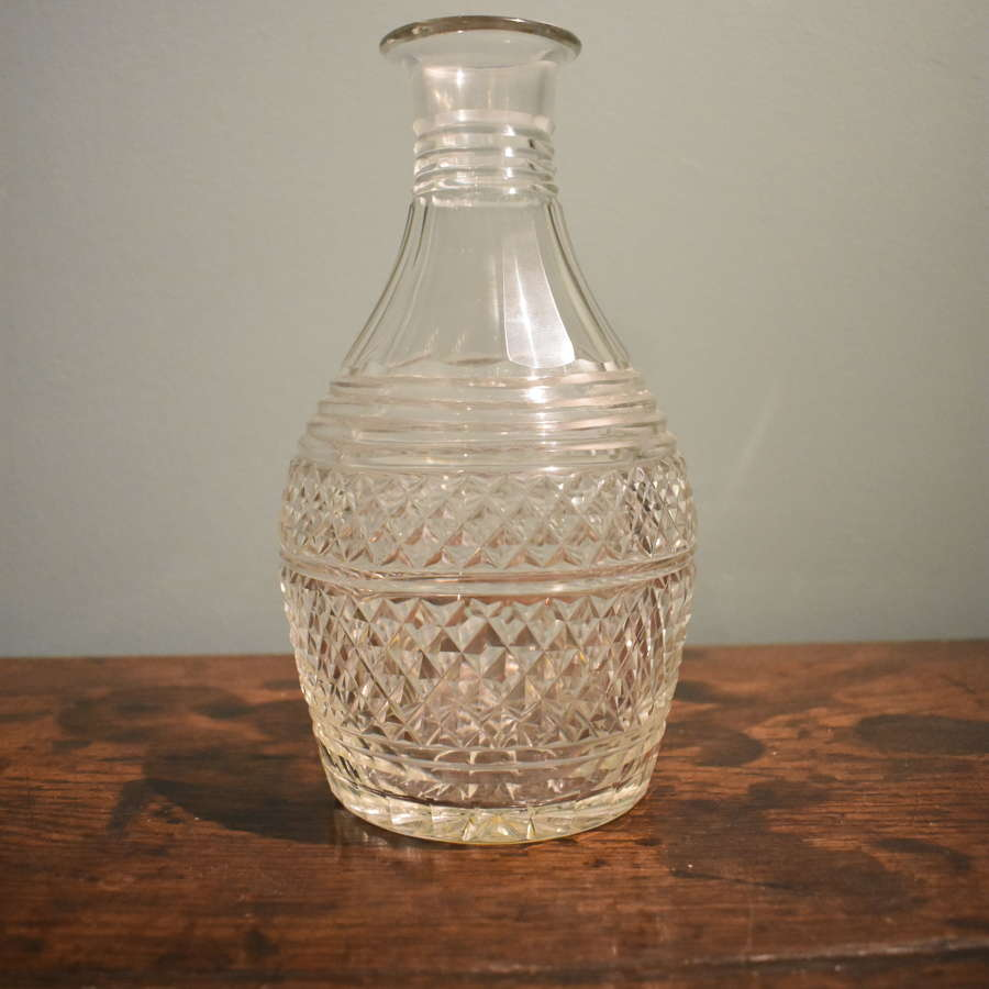 Regency Cut Glass Carafe