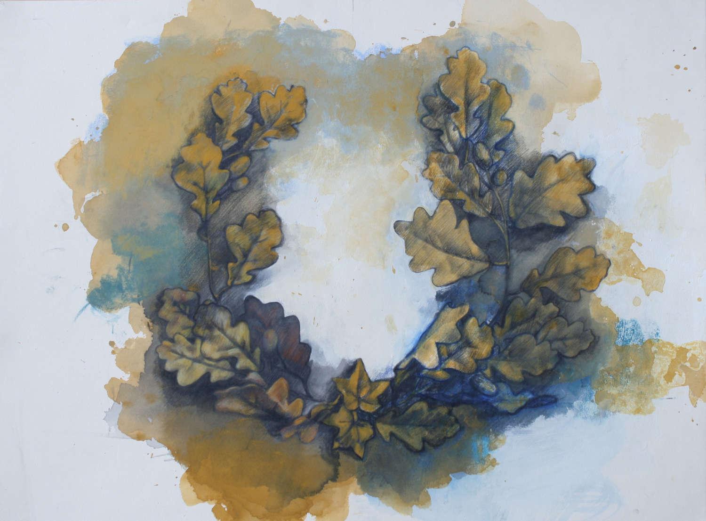 'Oak Wreath'