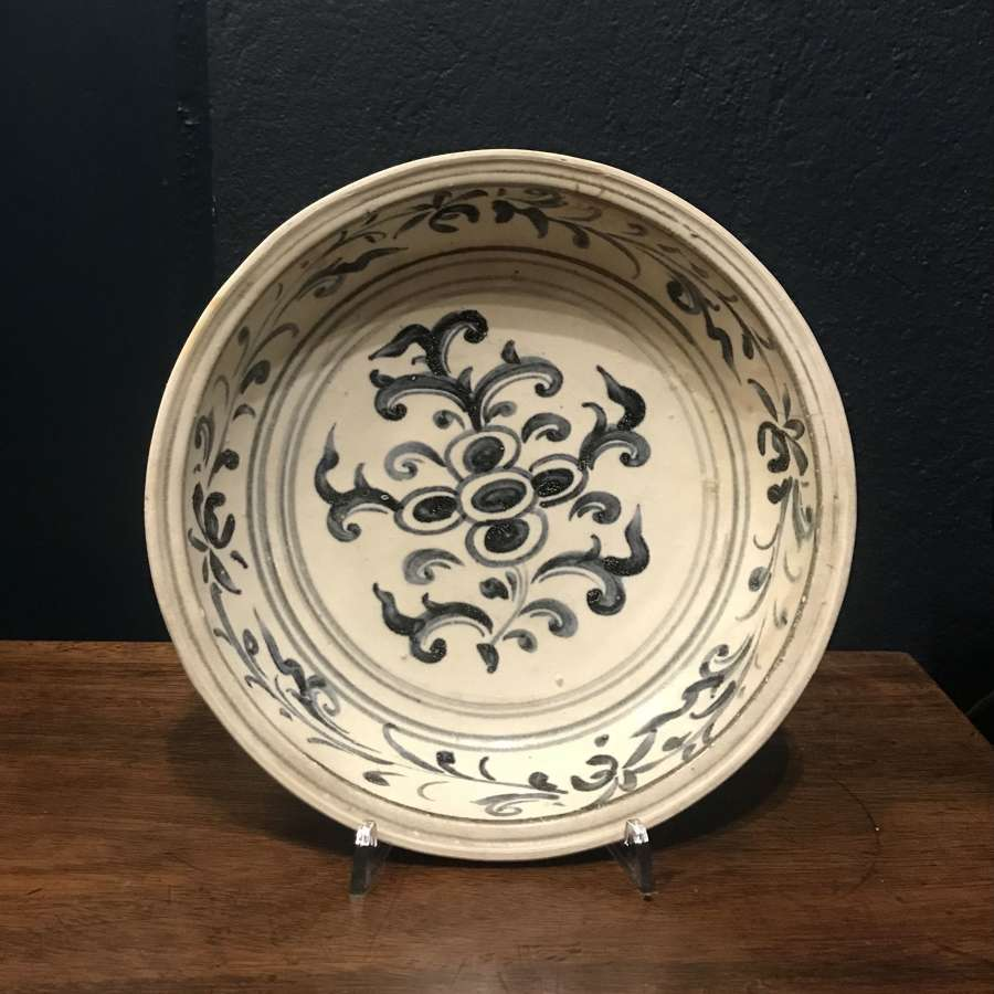 15th c. Hoi An Hoard - Blue and White Charger dish