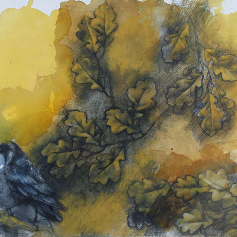 'Crow and Garland'