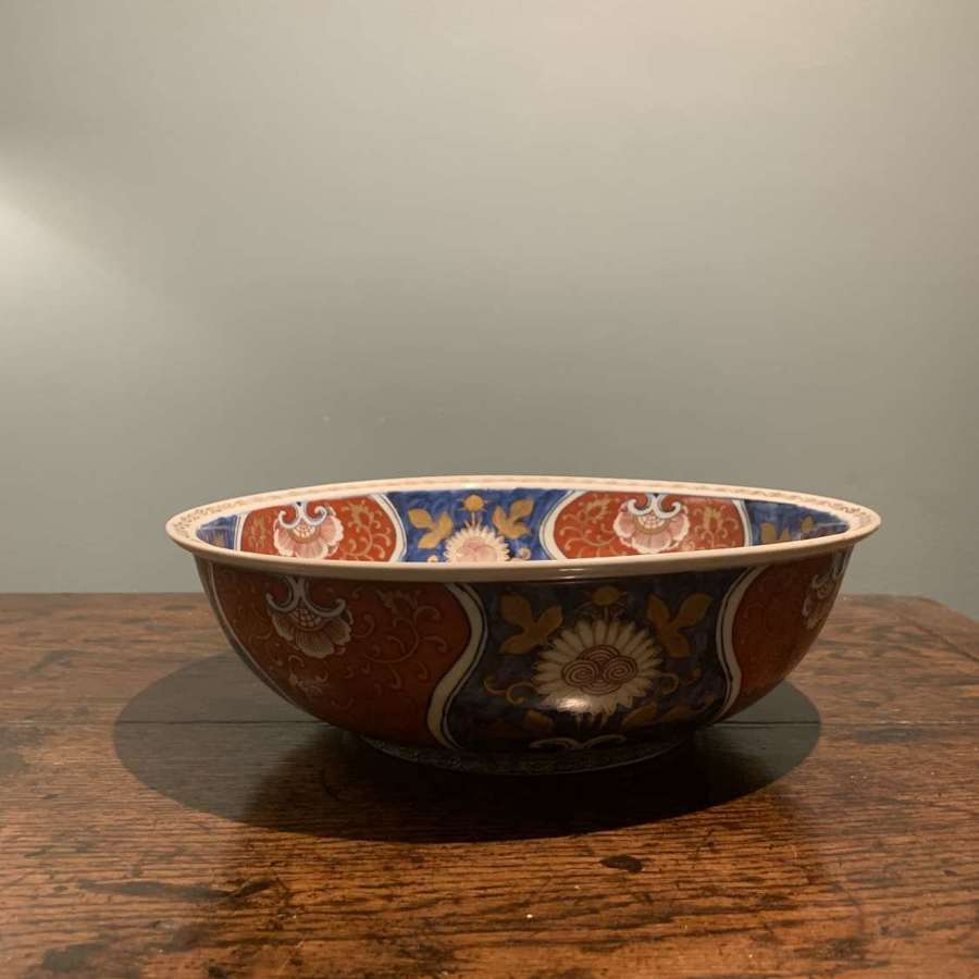 18th c. Japanese Arita Imari Bowl