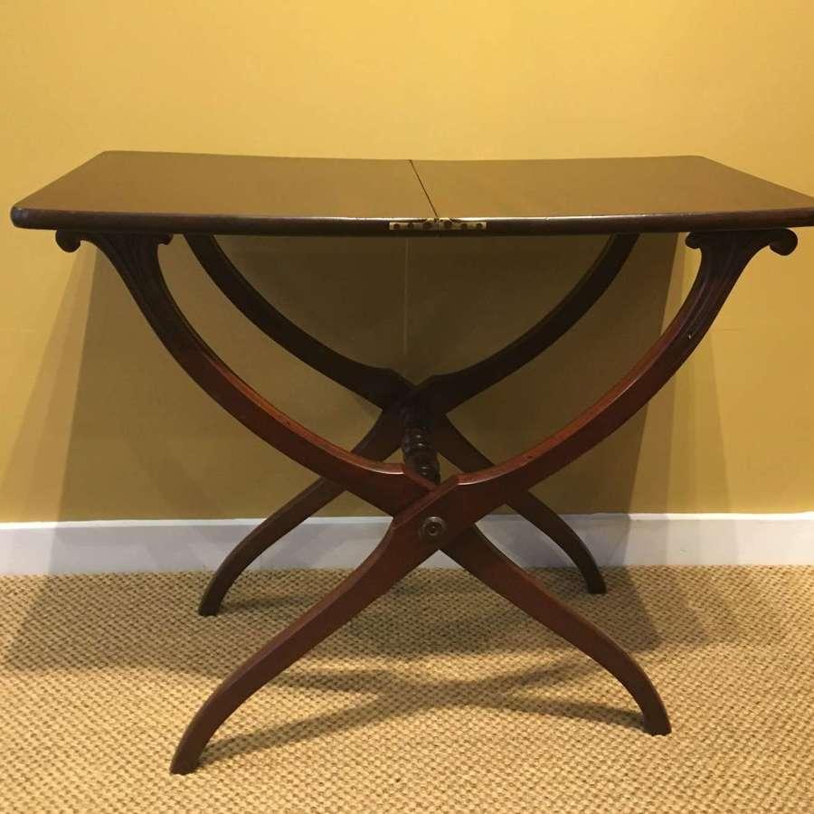 19th c. mahogany coaching table